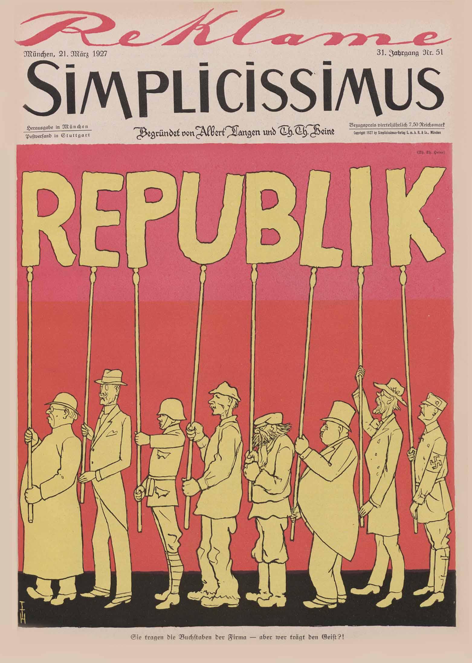 """Quiz zur """"Weimarer Republik"""""""